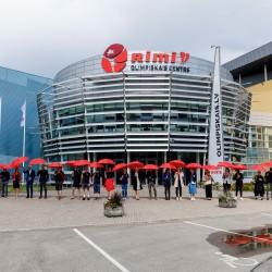 Olimpiskais sporta centrs maina nosaukumu – turpmāk Rimi Olimpiskais centrs (Publicitātes foto)